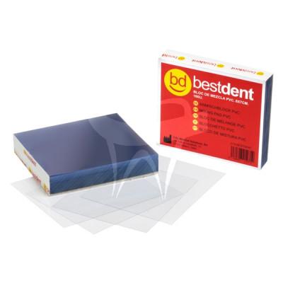 Blocco di miscelazione PVC 8x7cm Bestdent