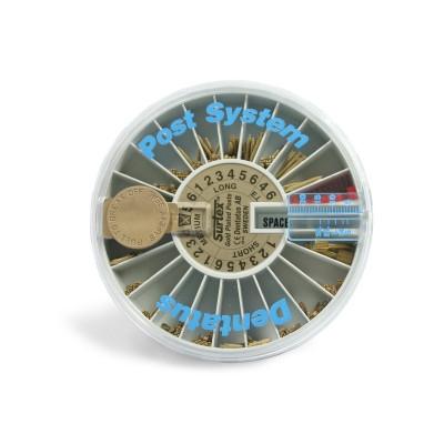 Viti dorate Surtex Kit 120pz Dentatus