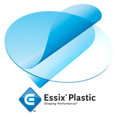 "Essix A+ Plastic 1mm/0,040"" diam.125mm 100 pz Dentsply"