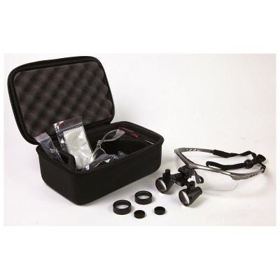 Occhiali binoculari ingrandienti 2,5x 420mm Mestra