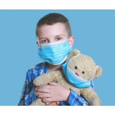 Mascherine chirurgiche pediatriche 50pz