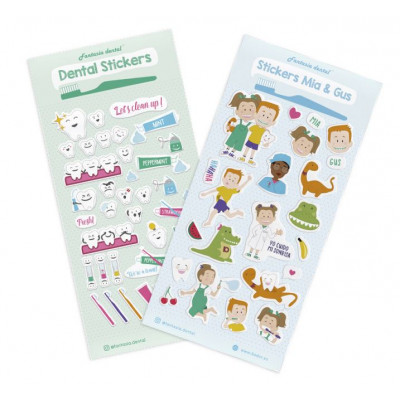 Stickers Mia & Gus 60pz Bader
